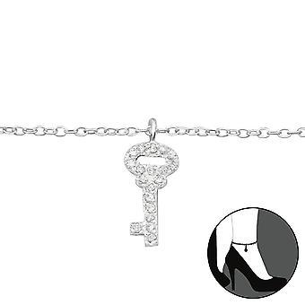 Key - 925 Sterling Silver Anklets - W27648x