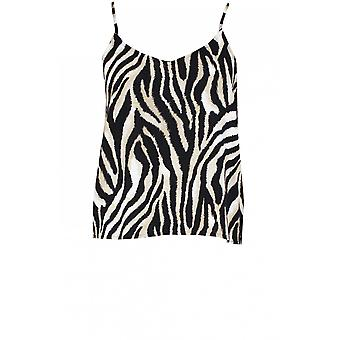 b.young Zebra Print Camisole