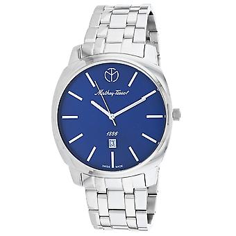 Mathey Tissot Men's Smart Blue Dial Watch - H6940MABU
