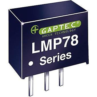 Gaptec LMP78_09-1.0 DC/DC converter (print) 24 V DC 9 V DC 1000 mA 9 W Nr. van de uitgangen: 1 x