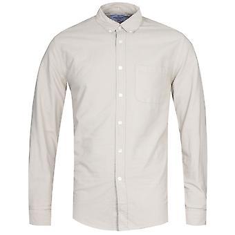 Portuguese Flannel Belvista Button-Down Long Sleeve Sand Shirt