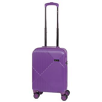 Controleren. IN Liverpool Dames Handbagage Trolley S, 4 Wielen, 55 cm, 33 L, Paars