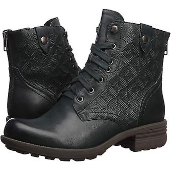 Cobb Hill Women's Shoes Brunswick lace Leather Closed Toe Ankle Fashion Boots