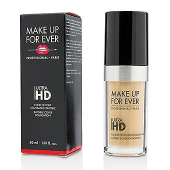 Ultra Hd Invisible Cover Foundation - # Y235 (ivory Beige) - 30ml/1.01oz