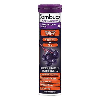Sambucol Black Elderberry 15 Effervescent Tablets