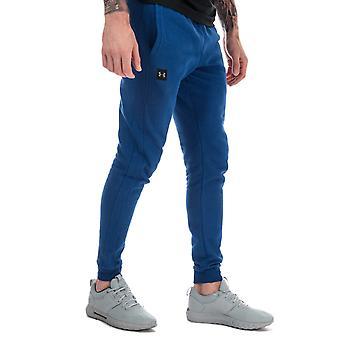 Under armour men's blue rival fleece jog pants