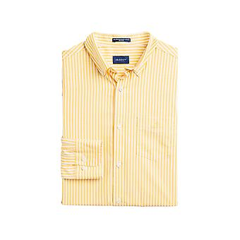 Gant Men's Striped Broadcloth Shirt Regular Fit