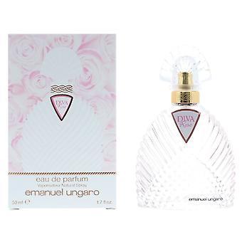Emanuel Ungaro Diva Rose Eau de Parfum 50ml Spray For Her