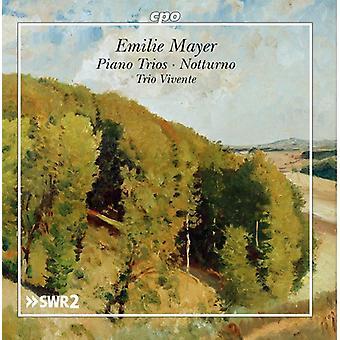 Mayer / Trio Vivente - Emilie Mayer: Piano Trios - Notturno [CD] USA import