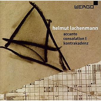 H. Lachenmann - Helumut Lachenmann: Accanto; Consolation I; Kontrakadenz [CD] USA import