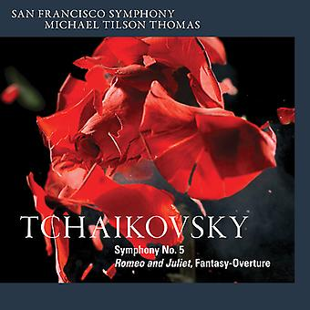 Tchaikovsky, P. / Thomas, Michael Tilson - Symphony No.5 - Romeo & Juliet [SACD] USA import