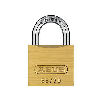ABUS 55/30mm Brass Padlock Carded ABU5530C