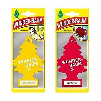 Wunder-Baum perfumado (Baunilha + Cereja) 2-Pack