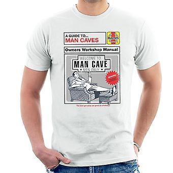Haynes Hombre Cuevas Propietarios Taller Manual Hombres's Camiseta