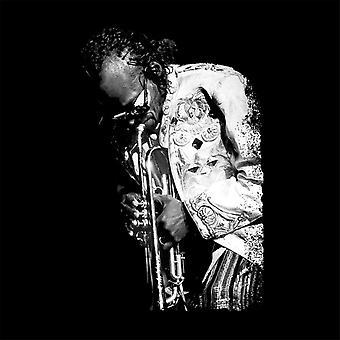 Miles Davis Playing In London 1986 Key Ring