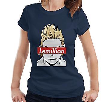 Lemillion My Hero Academia Naisten's T-paita