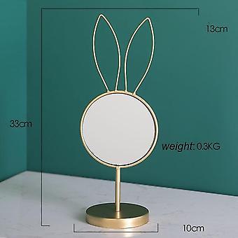 Multi-function Nordic Minimalist Portable Eye Pattern Detachable Desktop Makeup Mirror - Bathroom Dressing Table Creative Beauty Makeup Mirror