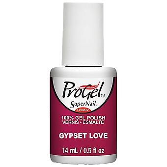 SuperNail ProGel Bohemian Gypsy 2015 Gel Nail Polish Collection - Gypset Love 14ml