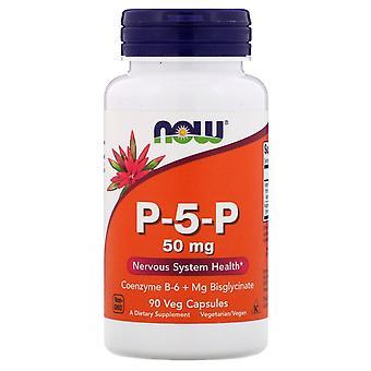 Now Foods, P-5-P, 50 mg, 90 Veg Capsules