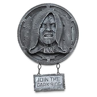 Star Wars Emperor Palpatine Wall Decor