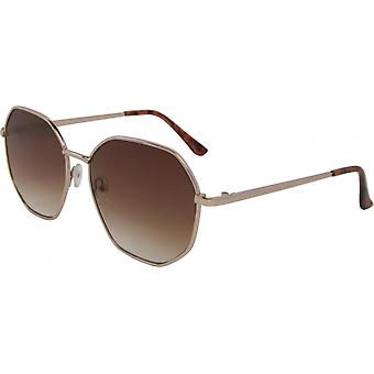 Sunglasses Unisex around Kat. 3 gold/brown (5190-B)
