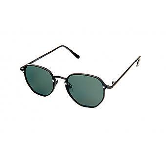 Gafas de sol Unisex moderno negro/verde (20-143)