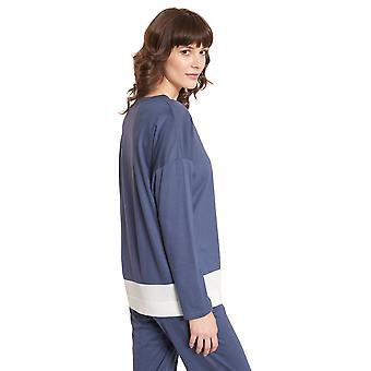 Rösch Pure 1203571-15609 Kvinnor's Färgblocking Pyjama Top