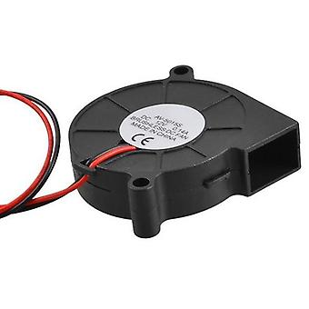 Black Brushless Dc Cooling Blower Fan (black)