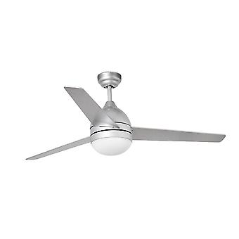 Ceiling Fan 132cm Grey 3 Blades 2x E27