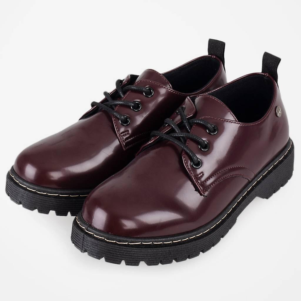 Zian Casual Shoes 18923_36 Bordeaux Color