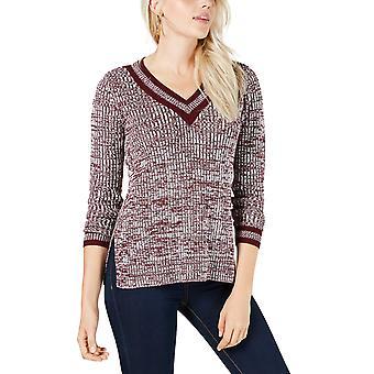 Maison Jules | Varsity V-Neck Sweater