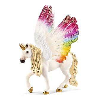 Schleich Bayala Winged Rainbow Unicorn Toy Figure (70576)