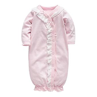 Dormeurs de chéri, princesse de robe, robe de pyjama avec la dentelle