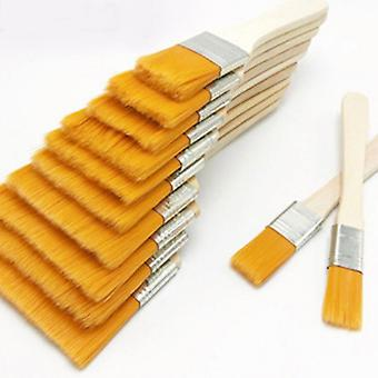 Reusable Paint Brush With Wood Handles For Oil Painting