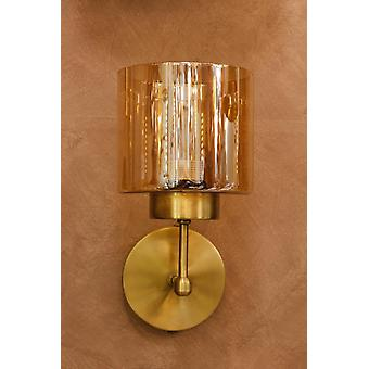 Vintage Antique Glass, Wall Rope Sconce Lampshades