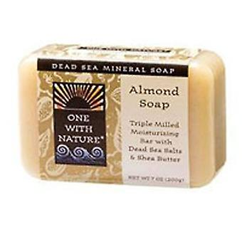 One with Nature Almond Bar Soap, Almond, 7 Oz