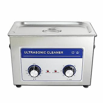 4.5l Professional Ultrasonic Cleaner Machine With Mechanical Timer Heated Stainless Steel Cleaning Tank 110v/220v