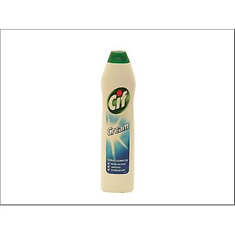 Lever Brothers Cif Cream Cleaner White 500ml 86792