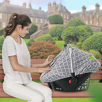 Couverture d'ombre solaire multi-usage pour poussette de bébé