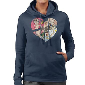 Casper The Friendly Ghost Heart Breaker Women's Hooded Sweatshirt