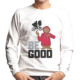 E.T. Be Good Men's Sweatshirt
