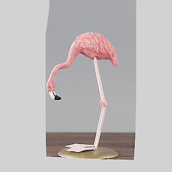 Nordic Pink Hars Flamingo -ornament For Room -desktop Station