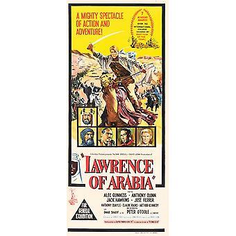 Lawrence Arabia elokuvajuliste (11 x 17)