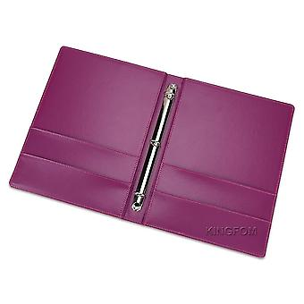 3-ring Binders Files Folder, Travel Portfolios Fashion Style, Business Office,