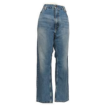 ليفي's 505 رجال & apos;ق الجينز المستقيم 40x30 5 جيب القطن الأزرق