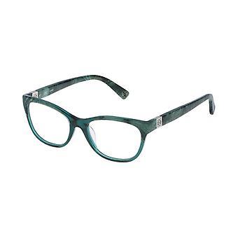 Ladies'Spectacle frame Loewe VLW919500860 Green (ø 50 mm)