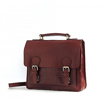 Le Téméraire (S) - Cognac - Smooth/Croco Leather