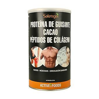 Herneproteiinia, kollageenia ja kaakaota 500 g