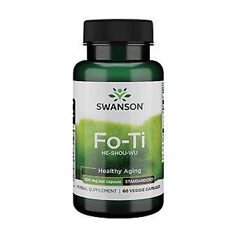 Fo-Ti (He-Shou-Wu) 500 mg 60 kapselia 500 mg