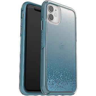 OtterBox Symmetry Clear Series, Clear Confidence for iPhone 11 - Blue (77-62822)